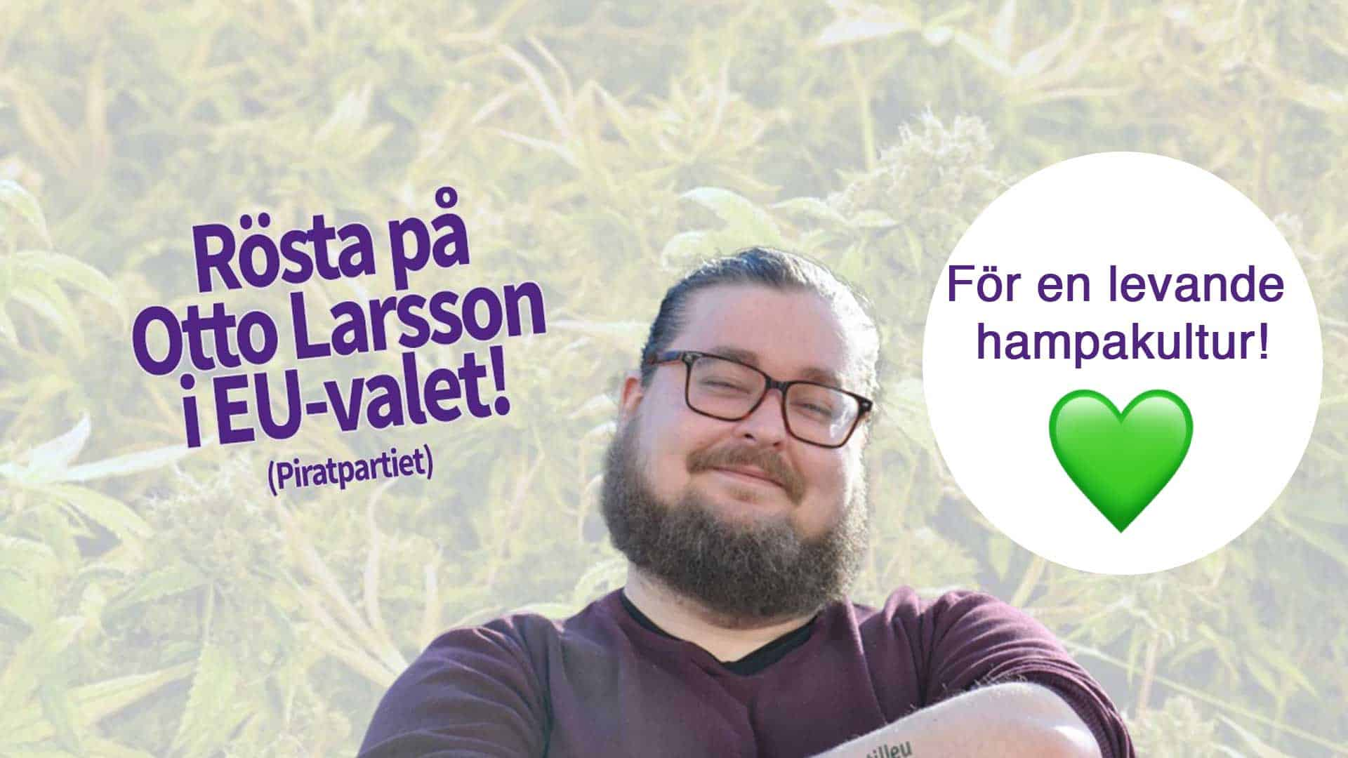 Otto Larsso till EU parlamantet